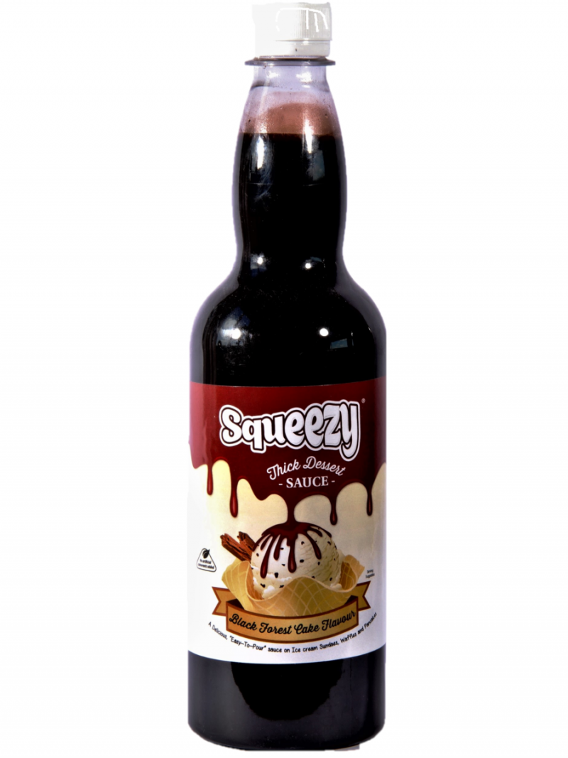 Squeezy Black Forest Cake 1 x 1kg catering bottle