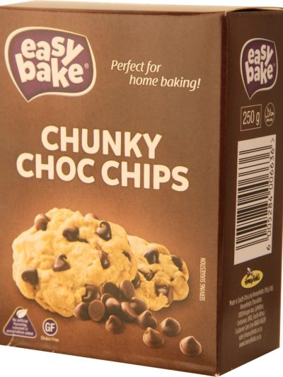 Chunky Chocolate Chips 250g single pack