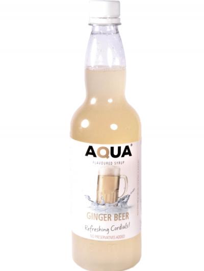 Aqua Ginger Beer 750 ml X 6 bottles per case