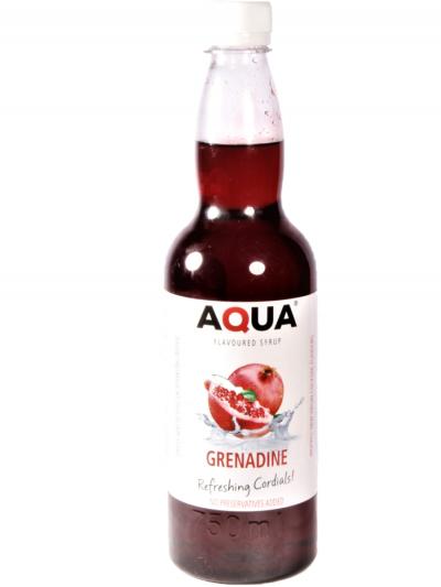 Aqua Grenadine 750 ml x 12 bottles per case