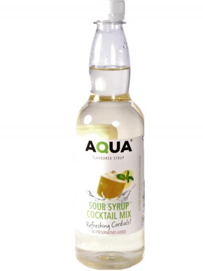 Aqua Sour Cocktail mix 750 ml x 6 bottles per case