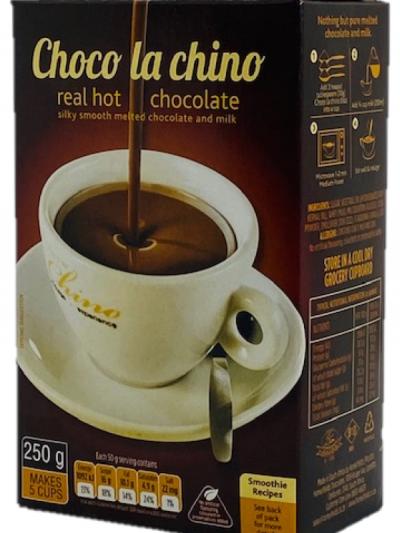 Choco la Chino Hot Chocolate drink 250 g single box - makes 5 x cups
