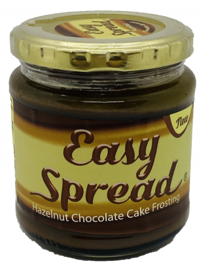 Easy Spread Hazelnut Chocolate Spread 300g glass jar