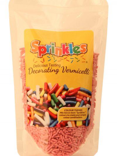 Sprinkles Pink Chocolate Vermicelli 200g single unit