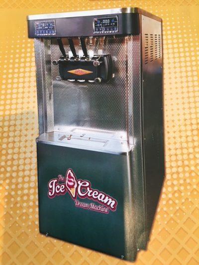 Ice cream machine Rental Options per month