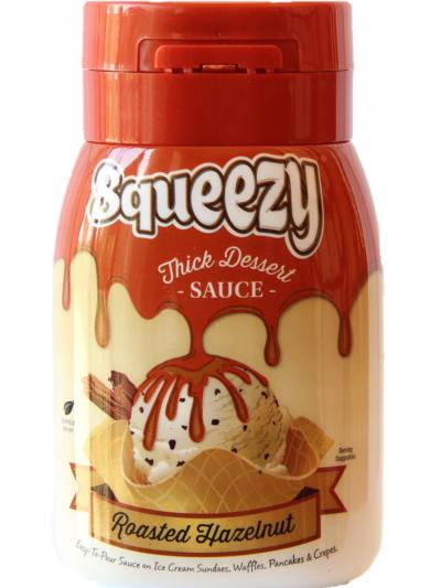 Squeezy Roasted Hazelnut 1 x 300g single unit