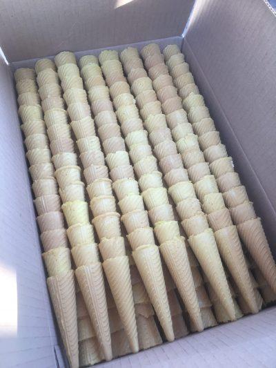 Catering Mini Kiddies 90mm Tasting cone 720 / box