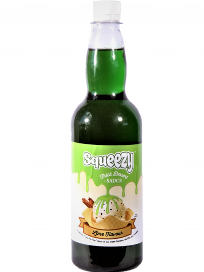Squeezy Lime thick sauce 1 x 1kg bottle